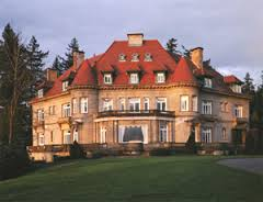 Pittock Mansion, setting for The Sorcerer's Garden