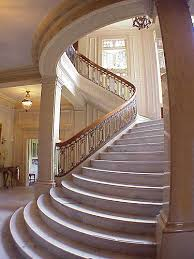 Stair-Hall of the Pittock Mansion