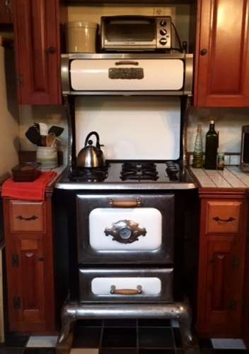 My fixed oven and stove