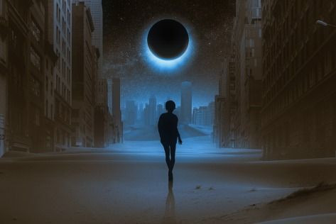 The Day The Moon Began To Disappear – Speculative Fiction – March Edition